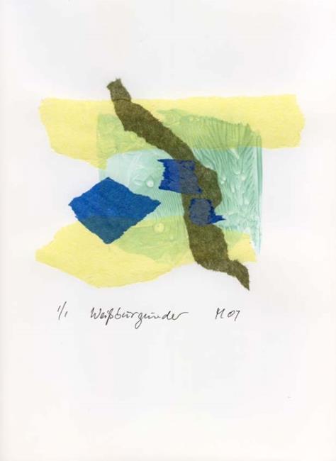 Art: Weissburgunder by Artist Gabriele Maurus