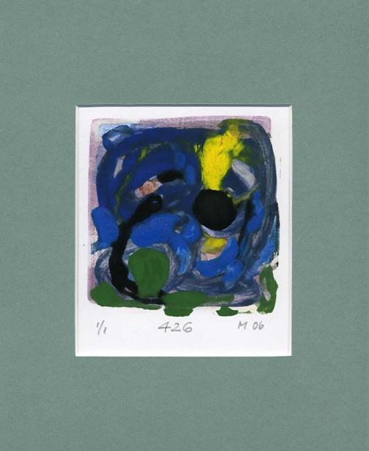 Art: Monoprint 426 by Artist Gabriele Maurus