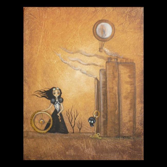 Art: Exiled by Artist Charlene Murray Zatloukal
