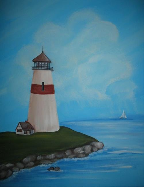 Lighthouse Airbrush Paintings http://www.ebsqart.com/Art-Galleries/Folk-Art/34/Maine-Lighthouse/137813/