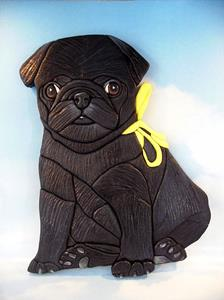 Detail Image for art Pug Dog...