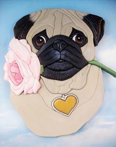 Detail Image for art Pug..