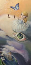 Art: Seventh Heaven by Artist Saskia Franken-Saers