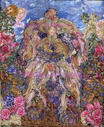 Art: Sophie's Secret Garden by Artist Wendy L Feldmann