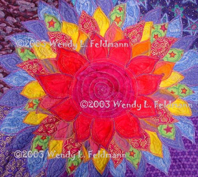 Art: The Birth Lotus by Artist Wendy L Feldmann