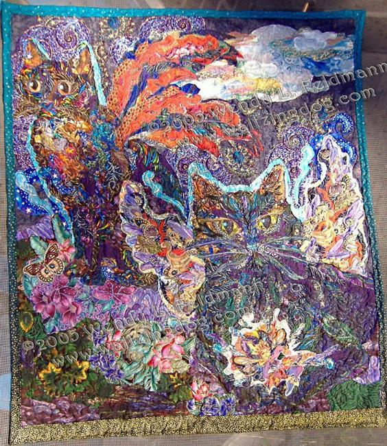 Art: Azrael and Quan-Yin by Artist Wendy L Feldmann