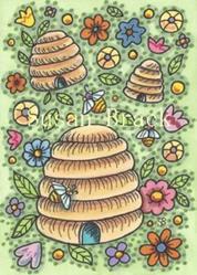 Art: HONEY ACRES by Artist Susan Brack