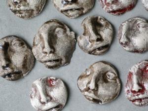 Detail Image for art Face Shard tiles
