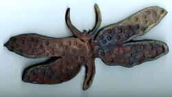 Art: Dragonfly by Artist Deborah Sprague
