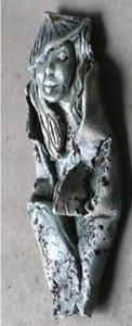 Detail Image for art Asian Wall sculpture CLAY