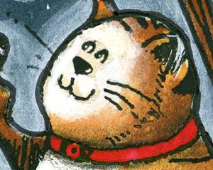 Detail Image for art Hey diddle diddle, the cat and the fiddle
