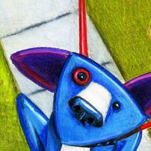 Detail Image for art Putting on the Dog (SOLD)