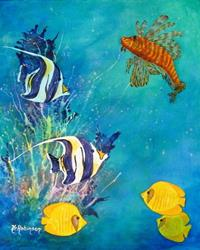 Art: FLORIDA FISH #1629 SOLD by Artist Ke Robinson
