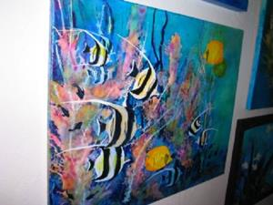 Detail Image for art LION FISH #1629 SOLD