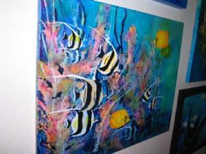 Detail Image for art LION FISH #1629 SOLD