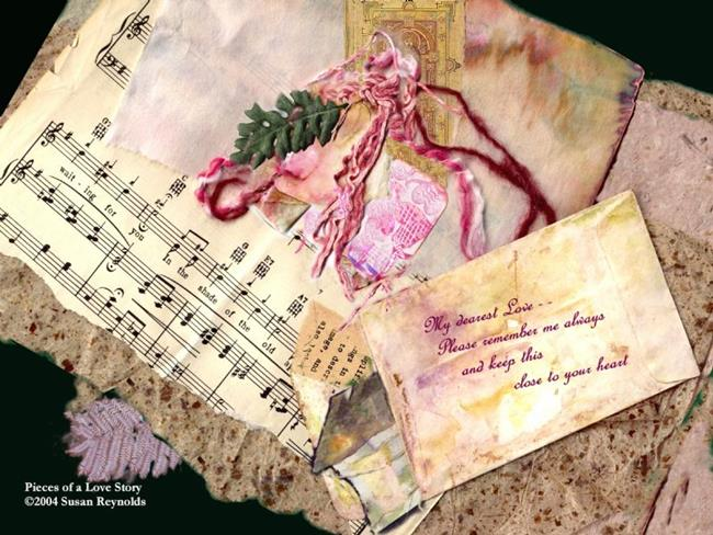 Art: Pieces of A Love Story by Artist Susan Reynolds