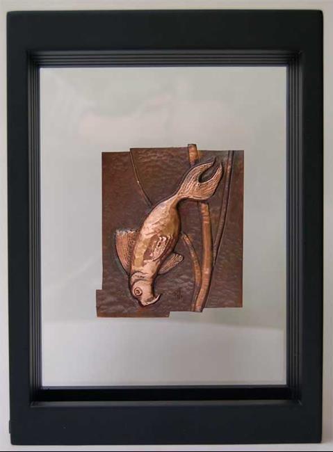 Art: Rip 2006 - Holy Carp 2 by Artist Robin Cruz McGee