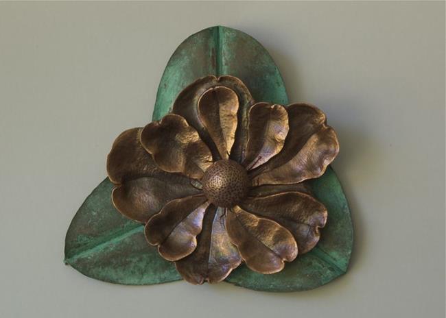 Art: Magnolia Triquetra by Artist Robin Cruz McGee