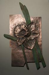 Art: Daffodil by Artist Robin Cruz McGee