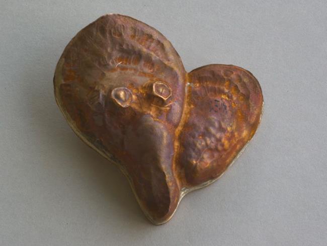 Art: Oyster Heart Pendant 4 by Artist Robin Cruz McGee