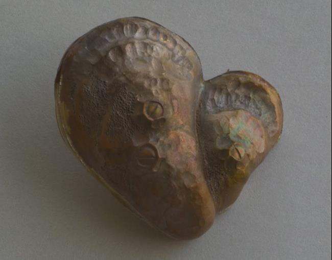 Art: Oyster Heart Pendant 5 by Artist Robin Cruz McGee