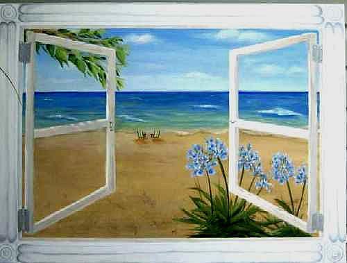 Art: California Dreaming by Artist Karen Lynn Evans