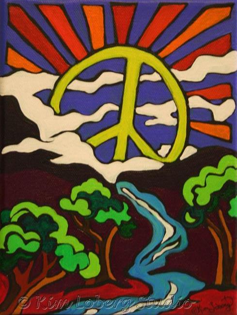 Art: Peace Valley by Artist Kim Loberg
