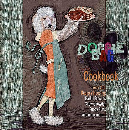 Art: Doggie Bag Cookbook by Artist Alma Lee