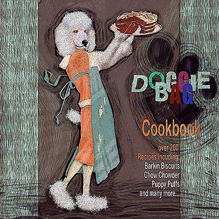 Art: Doggie Bag Cookbook by Artist Alma Lee