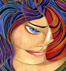 Art: Venus on the Cusp by Artist Alma Lee