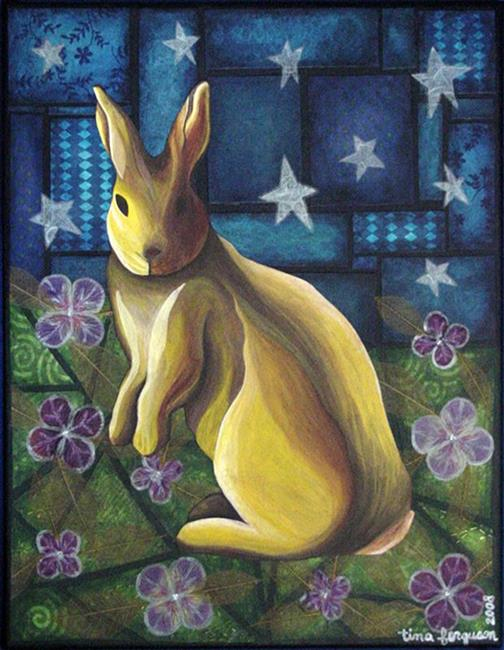 Art: Tell About the Rabbits, Ripped by Artist Tina Marie Ferguson