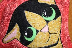 Detail Image for art Sara's Pity Kitty Stuffed