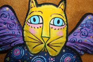 Detail Image for art Beth's Cat Fancy Angel