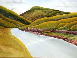 Art: Black Hills Brook - sold by Artist Shari Lynn Dunn