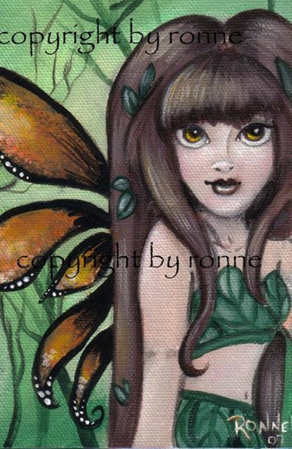 Art: Woodland Sprite OSWOA™ by Artist Ronne P Barton