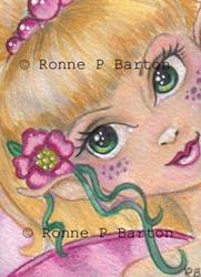 Art: Blossum by Artist Ronne P Barton