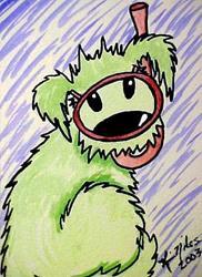 Art: Scuba Pup! (Rufus) by Artist KiniArt