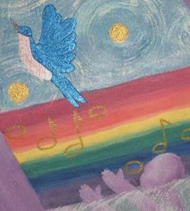 Detail Image for art OVER THE RAINBOW