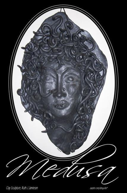 Art: MEDUSA by Artist RUTH J JAMIESON