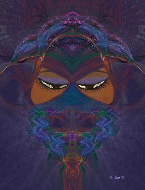 Art: SHEHEREZAD by Artist RUTH J JAMIESON