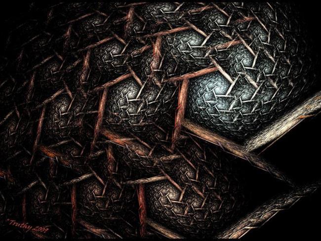 Art: EARTH TEXTURE by Artist RUTH J JAMIESON