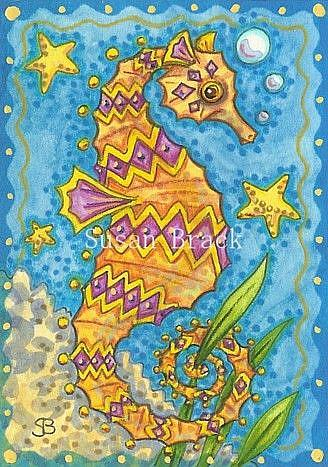 Art: JEWEL OF THE SEA by Artist Susan Brack