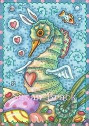 Art: EASTER FANTASY by Artist Susan Brack