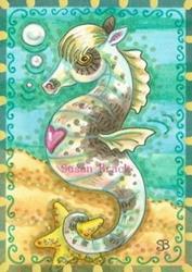 Art: SEAPONY 2 by Artist Susan Brack