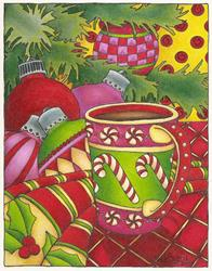 Art: Fa la la la Latte by Artist Shelly Bedsaul