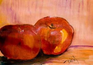 Detail Image for art Two Apples, Sold