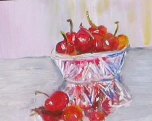 Detail Image for art Life is a Bowl of Cherries-sold