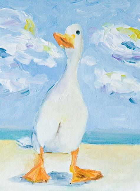 Art: A Ducks Life-sold by Artist Delilah Smith