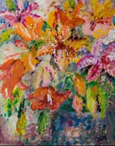 Detail Image for art Day Lillies