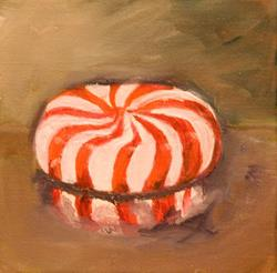 Art: Peppermint Candy- SOLD by Artist Delilah Smith